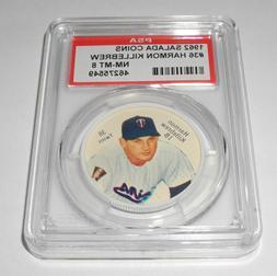 1962 Salada Baseball Coin Pin #36 Harmon Killebrew Minnesota
