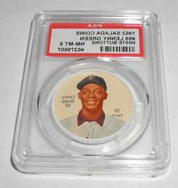 1962 Salada Baseball Coin Pin #69 Lenny Green Minnesota Twin