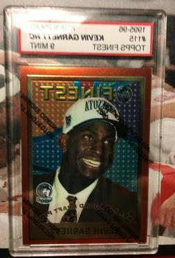 1995-96 Topps Finest #115 Kevin Garnett ROOKIE RC MINT NBA K