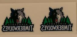 MINNESOTA TIMBERWOLVES #2  DIY Stickers Decals Great for YE