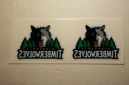 MINNESOTA TIMBERWOLVES  DIY Stickers Decals GREAT for YETI