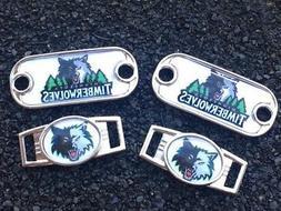 2 ~ Minnesota Timberwolves NBA Charms Oval or Mini Dog Tag s