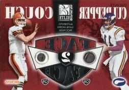2002 DONRUSS ELITE FACE 2 FACE DAUNTE CULPEPPER & TIM COUCH