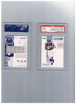 2007 Playoff Preview #P-2 Adrian Peterson Rookie Card  PSA G