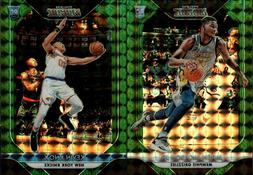 2018-19 PANINI PRIZM MOSAIC GREEN REFRACTOR SP w/ RC SINGLES