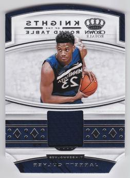 2019-20 Crown Royale Jarrett Culver Knights of the Round Tab