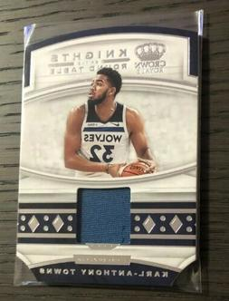 2019-20 Crown Royale~KARL ANTHONY TOWNS~Knights of the Round