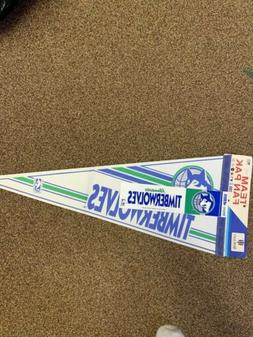 32inch Pennant & Bumper Sticker  - Minnesota Timberwolves Te