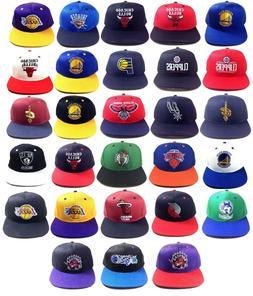 ADIDAS NBA TEAM COLOR SNAPBACK HAT CAP ADJUSTABLE FLAT BILL