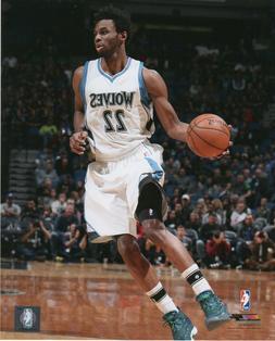 Andrew Wiggins Minnesota Timberwolves LICENSED  8x10 Basketb