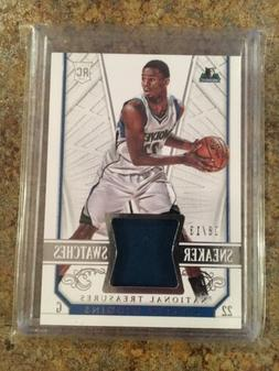 Andrew Wiggins Rookie RC 2014-15 National Treasures Sneaker