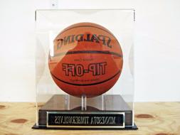 Minnesota Timberwolves Basketball Display Case For A Team Au