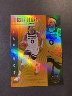 D'Angelo Russell 2019-20 Panini Illusions Orange Parallel Ti
