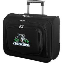 DENCO SPORTS LUGGAGE MINNESOTA TIMBERWOLVES CARRY-ON LAPTOP