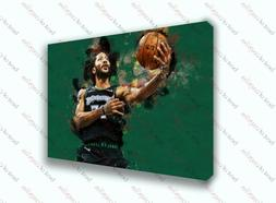derrick rose minnesota timberwolves sports painting canvas