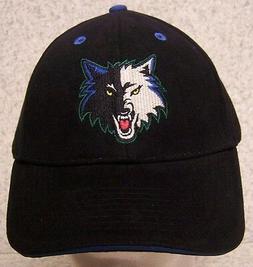 embroidered baseball cap sports nba minnesota timberwolves