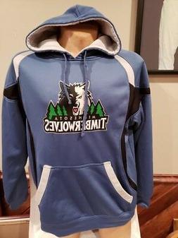 GORGEOUS Minnesota Timberwolves Adult Sz Lg Blue NBA Apparel