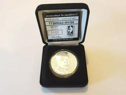 Kevin Garnett 1994 Highland Mint SILVER Commerative Medallio