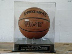 Kevin Garnett Basketball Display Case For A Timberwolves Aut