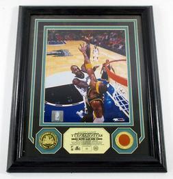 Kevin Garnett Game Used Collection Photo GU Ball Coin Highla