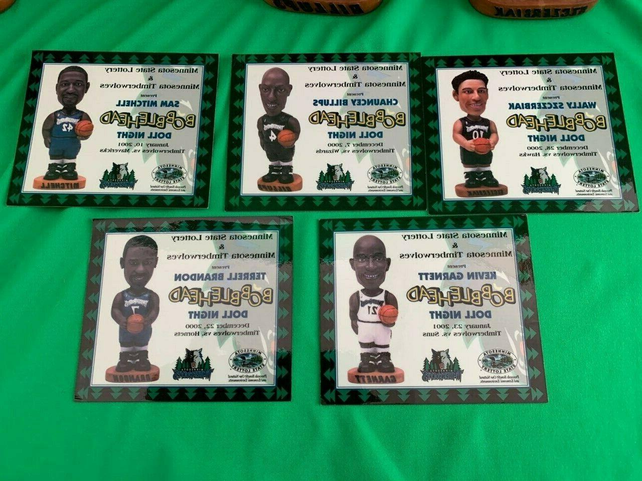 2000 Minnesota Timberwolves Complete Of & Authenticity