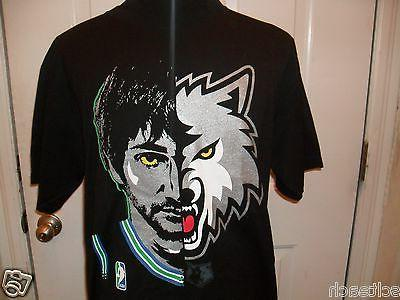 Adult Ricky Minnesota Timberwolves Majestic Player T-Shirt