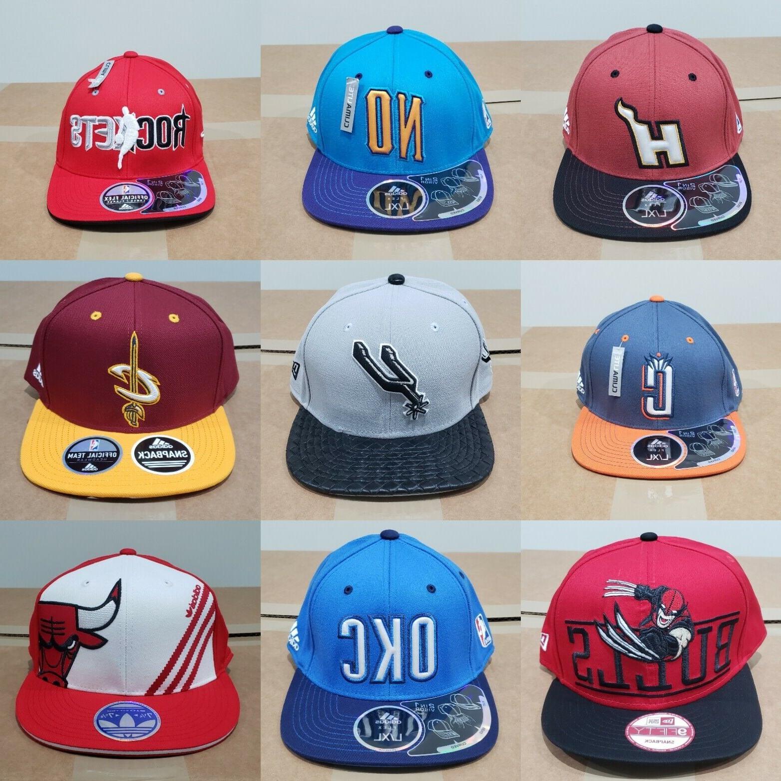all nba teams embroidered logos basketball snapback