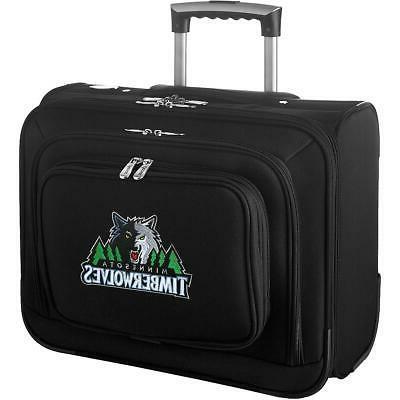 denco sports luggage minnesota timberwolves carry on