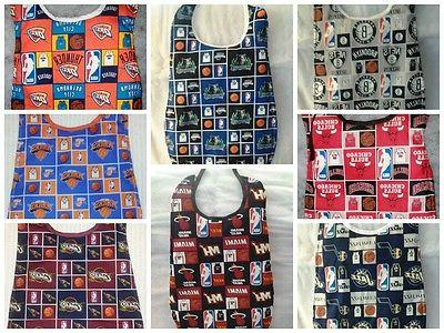 handmade adult clothing protector made with nba