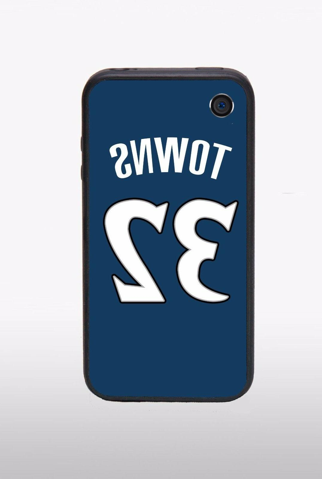 karl anthony towns minnesota timberwolves iphone case