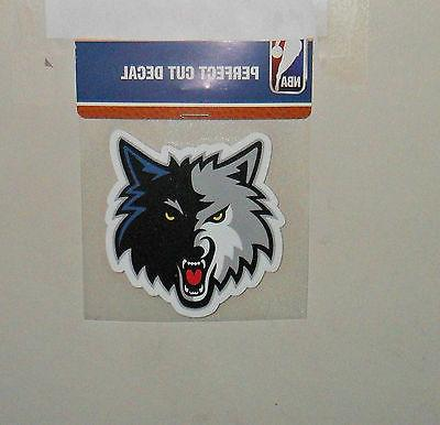 minnesota timberwolves 4 x 4 die cut