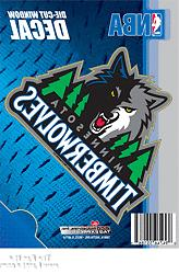 "Minnesota Timberwolves 5"" Vinyl Die Cut Decal Sticker Emblem"