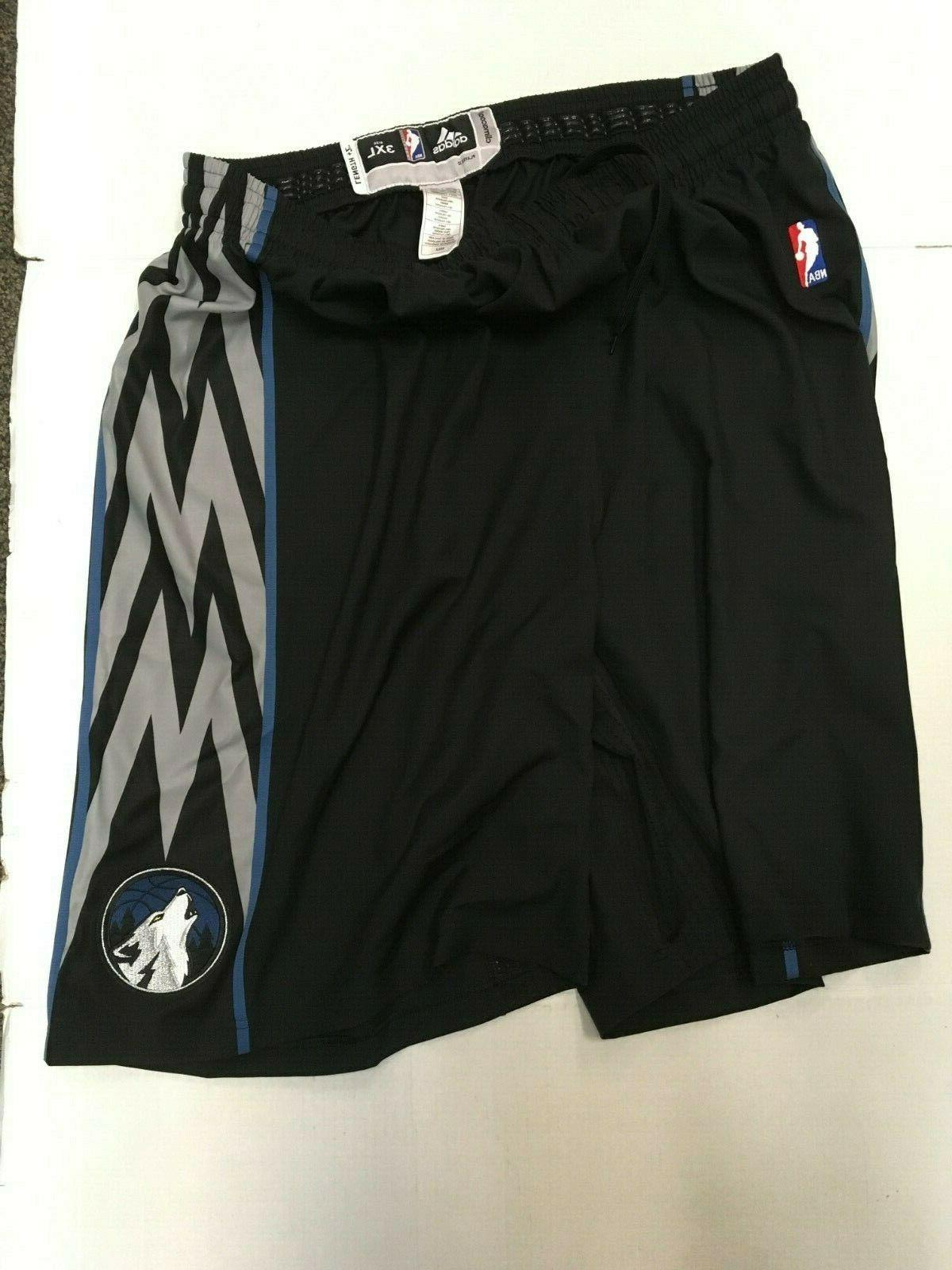 minnesota timberwolves authentic black nba game issue