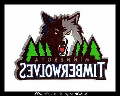 minnesota timberwolves basketball decal sticker team logo