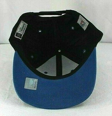 Minnesota Black/Blue Baseball Cap Snapback