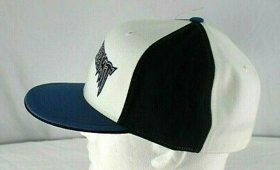 Minnesota Timberwolves Black/Blue/White Baseball 8