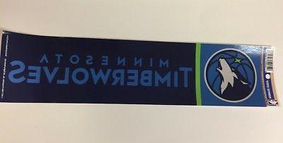 Minnesota Timberwolves NEW!! 3 x Inches
