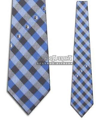 Minnesota Timberwolves Check Poly Necktie
