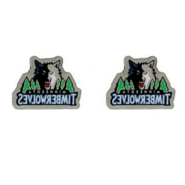 minnesota timberwolves earrings new