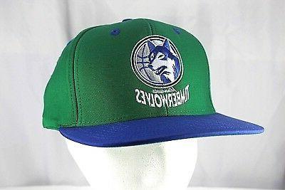 minnesota timberwolves green blue nba baseball cap