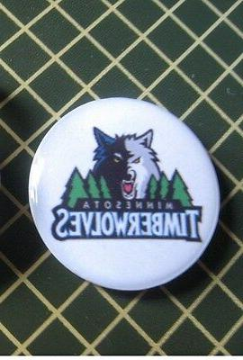 minnesota timberwolves logo ball marker new