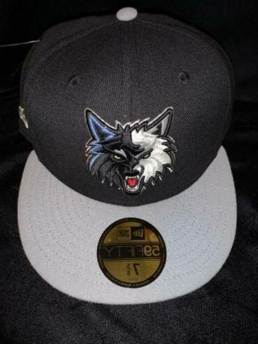 minnesota timberwolves logo flat bill snap back