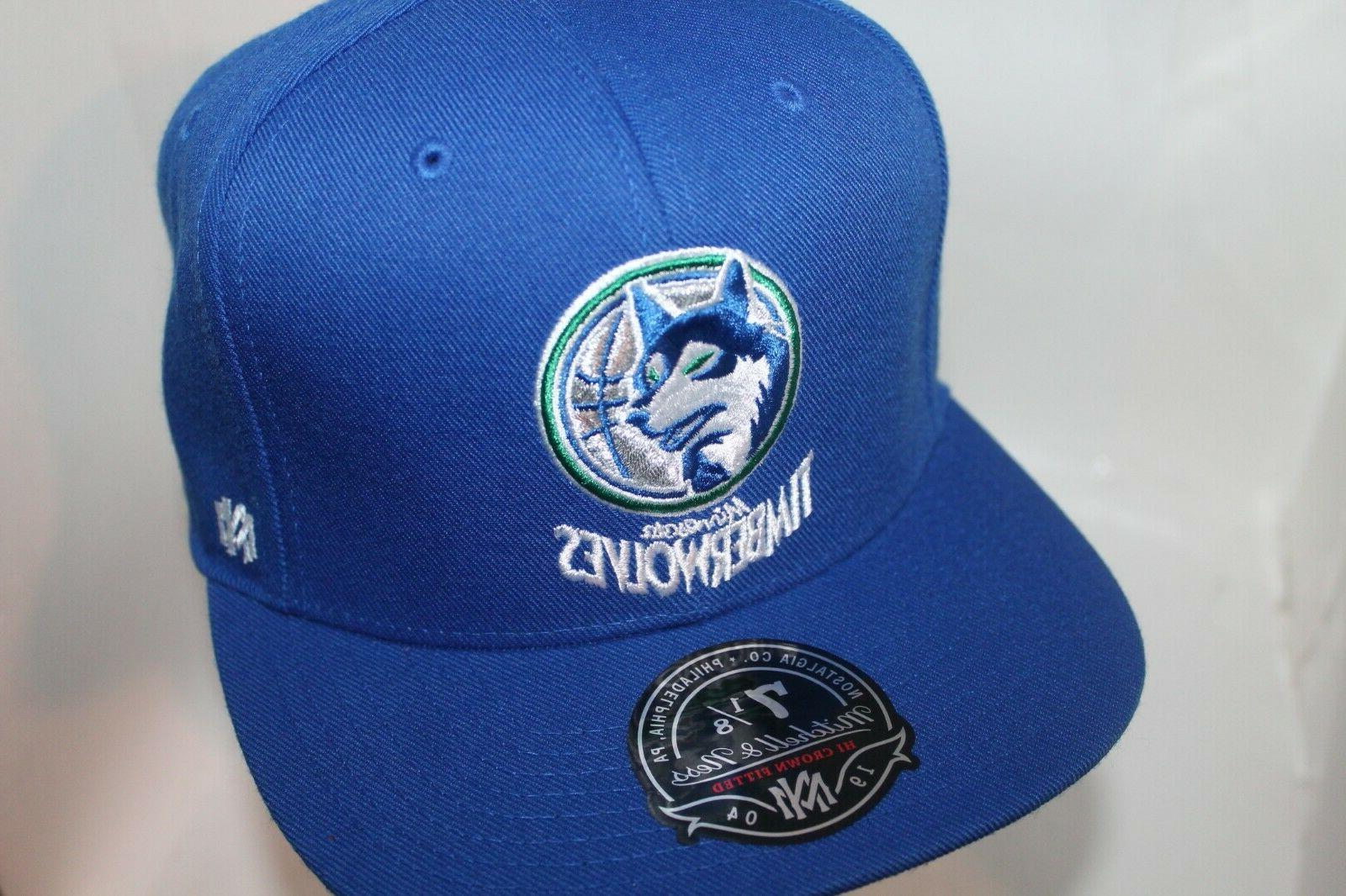 Minnesota Timberwolves & Ness NBA Team Hi Crown
