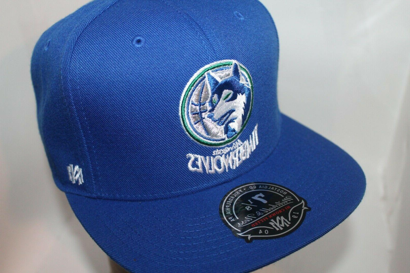 Minnesota Timberwolves Mitchell & Ness Solid Hi Fitted