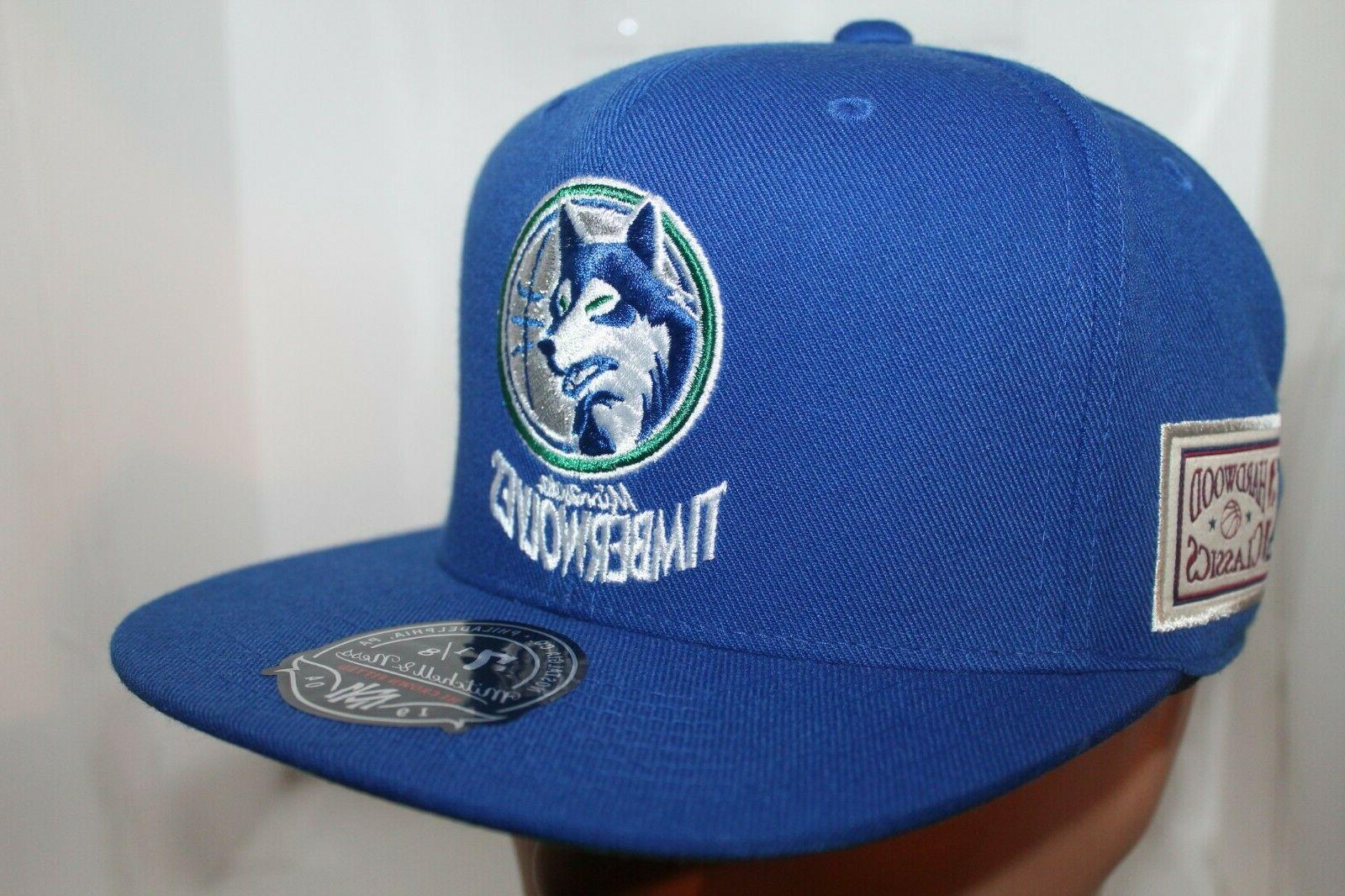 Minnesota Mitchell & Ness Team Hi Crown Cap,Hat