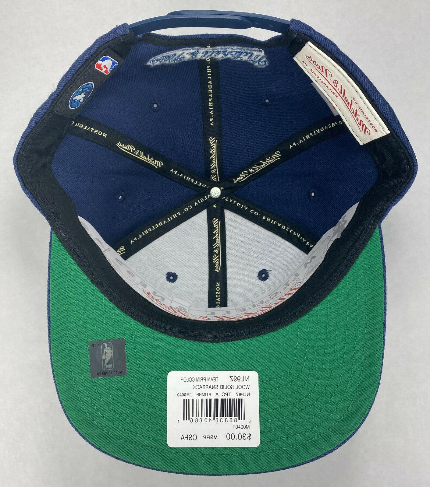 Mitchell and Ness Minnesota Wool Solid