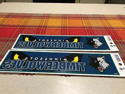 nba minnesota timberwolves basketball team logo decal