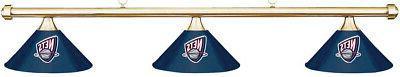 NBA Minnesota Timberwolves Blue Shade & Brass Bar Billiard P