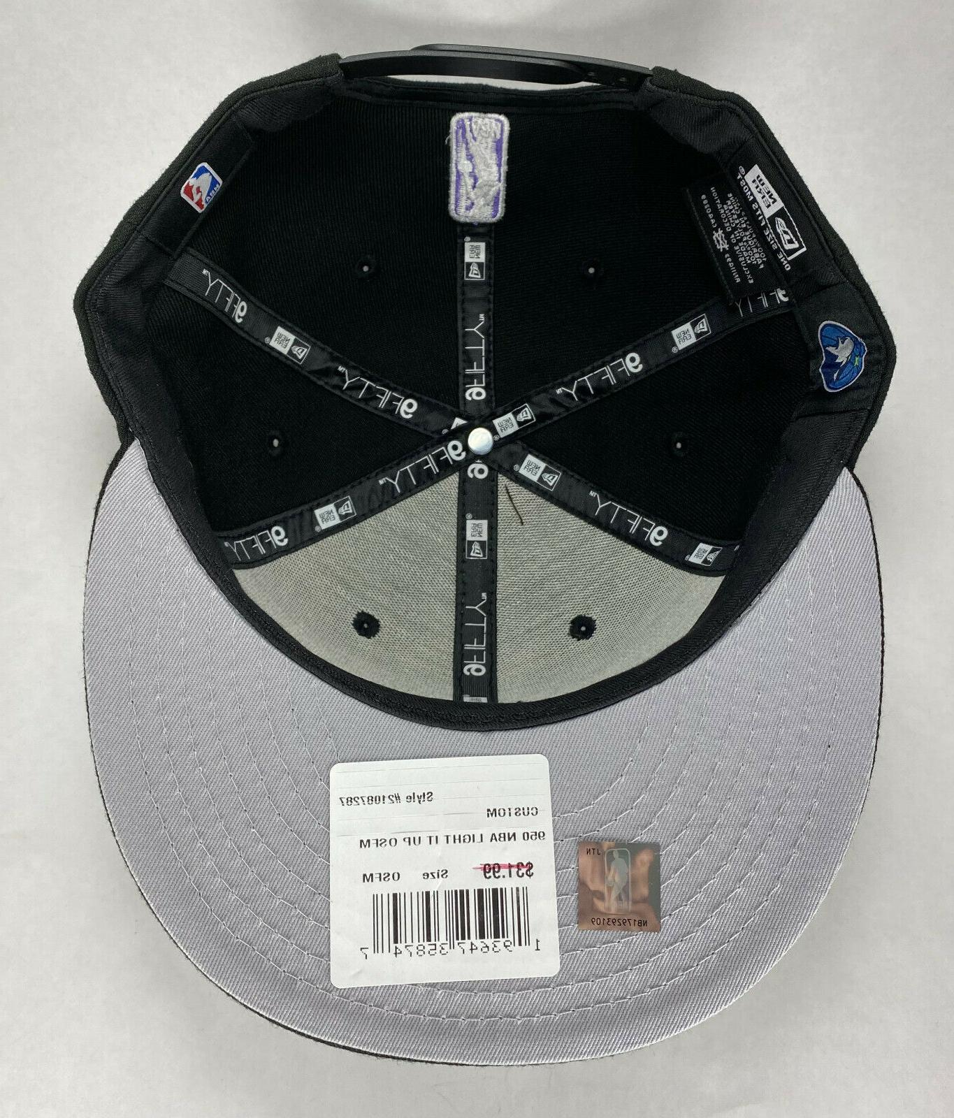 New Minnesota Timberwolves 9FIFTY Snapback Hat,