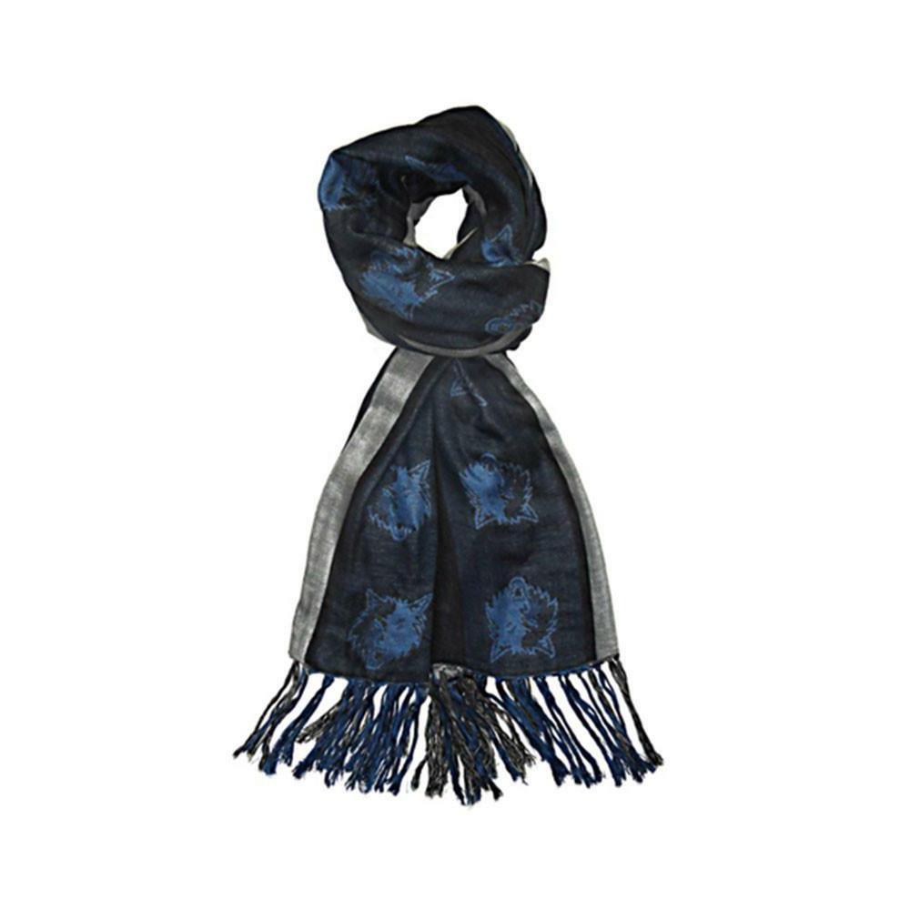 nba minnesota timberwolves scarf blue one size